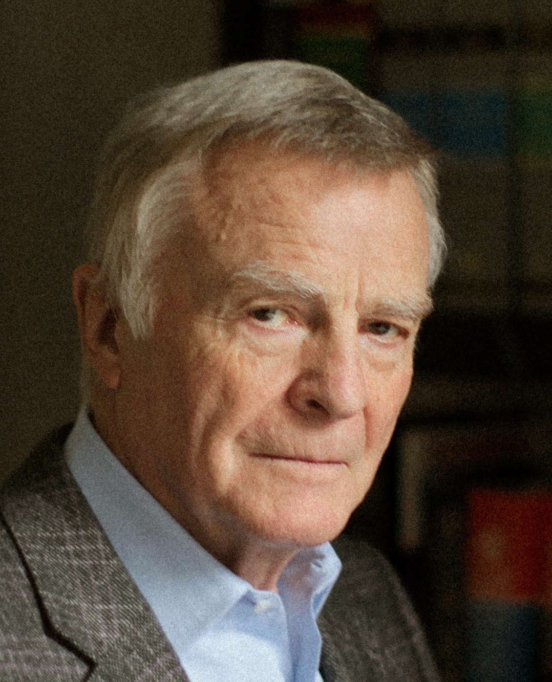 Max Mosley photographed at home in London. Photo Rick Pushinsky.