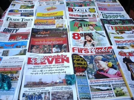 Burmese magazines