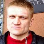 Siarhei Kavalenka, a political activist and small businessman from Vitsebsk, northern Belarus