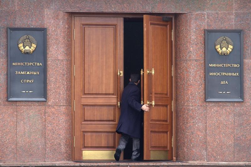 Brussels recall ambassadors of all EU member states from Belarus, February 2012. Alexander Mazurkevich | Demotix
