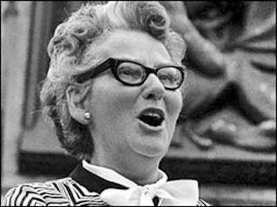 In 1977 Christian campaigner Mary Whitehouse successfully brought charges against the publishers of a magazine that printed a graphic sexual poem about Jesus Christ