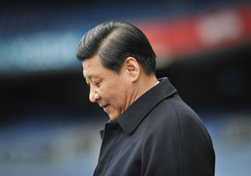 Xi Jinping during a trip to Dublin, Ireland, February 2012. Art Widak | Demotix