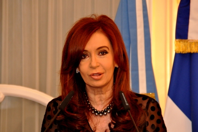 Cristina Fernndez de Kirchner. Hugo Passarello Luna | Demotix 