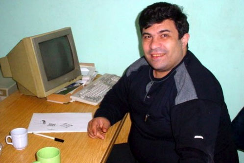 Azerbaijani journalist Elmar Huseynov was murdered in 2005