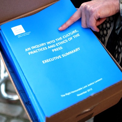 The Leveson Report is Published