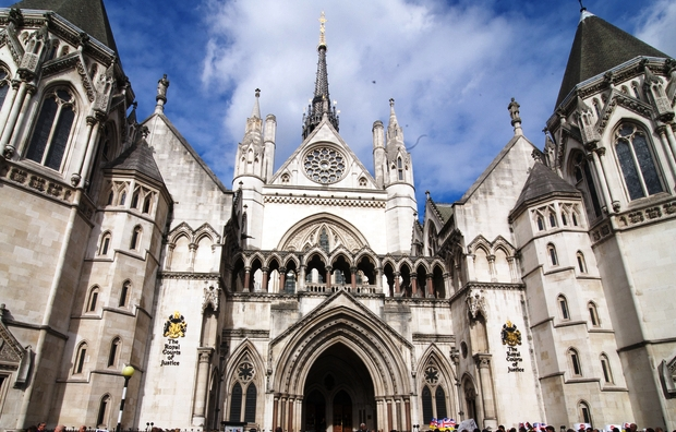 The Royal Courts of Justice, London (Image Graham Mitchell/Demotix)