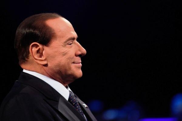 """Silvio Berlusconi appears on Italian TV show """"Servizio Pubblico"""""""