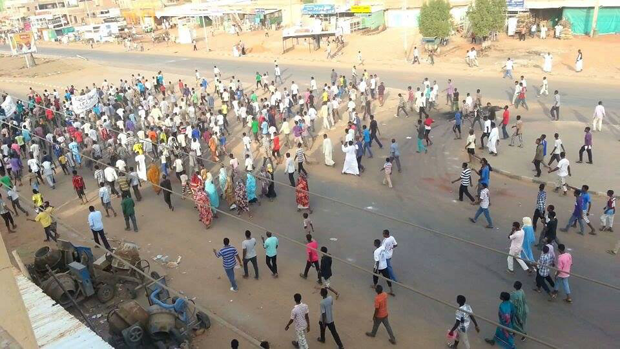 The government of Sudan cut the country off from the internet as protests against the end of fuel subsidies spread.