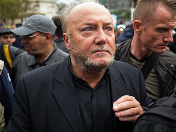 George Galloway attends an anti-war rally in 2011 (Image: Paul soso/Demotix)