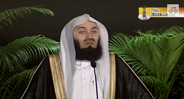 Mufti Ismail Menk giving a lecture (Image: YouTube)