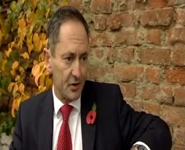 David Gale on the BBC's Sunday Politics Show (Image: UKIPDerby/YouTube)