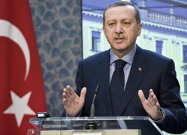Turkish Prime Minister Recep Tayyip Erdogan (Photo: Philip Janek / Demotix)