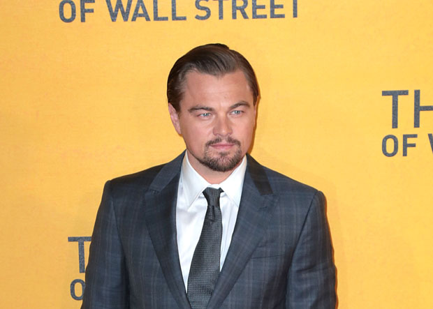 Leonardo DiCaprio at the recent British premiere of The Wolf of Wall Street in London