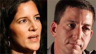 Journalism nominees Glenn Greenwald and Laura Poitras