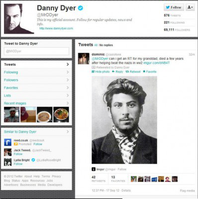 Danny Dyer Stalin