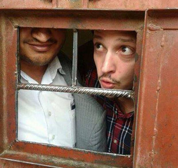 American journalist Adam Baron who was deported from Yemen last week