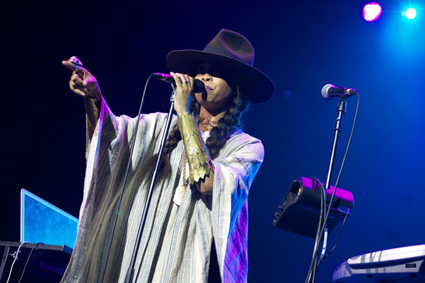 Erykah Badu peforming at the O2 Academy Brixton in 2011 (Image: SANPA Anne/Demotix)
