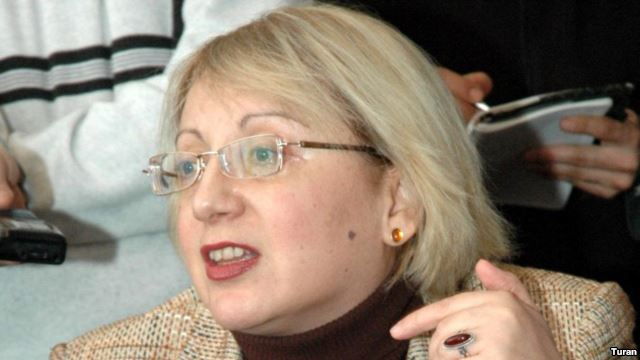 Human rights defender Leyla Yunus was detained today in Baku.