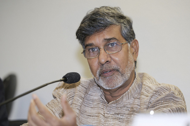 Kailash Satyarthi (Photo: ©José Cruz/Agência Senado/CreativeCommons/Flickr)