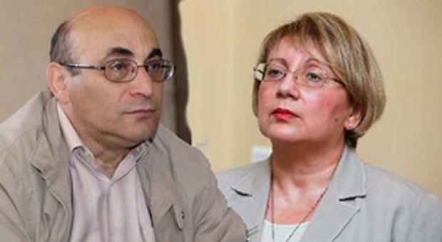 Arif and Leyla Yunus (Photo: HRHN)