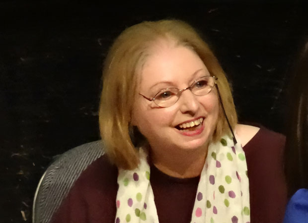 Hilary Mantel in Bath, March 9, 2013 (Photo: T_Marjorie / Flickr)