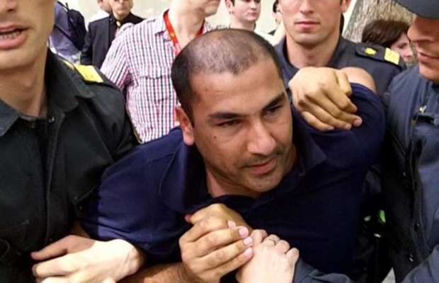 In the latest example of Azerbaijan's crackdown on independent media, Khalid Garayev was detained by police on Oct 30, 2014.