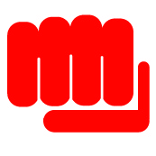 fist web size