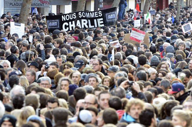 People marched in Paris to show their unity. Photo: European Council President / Flikr