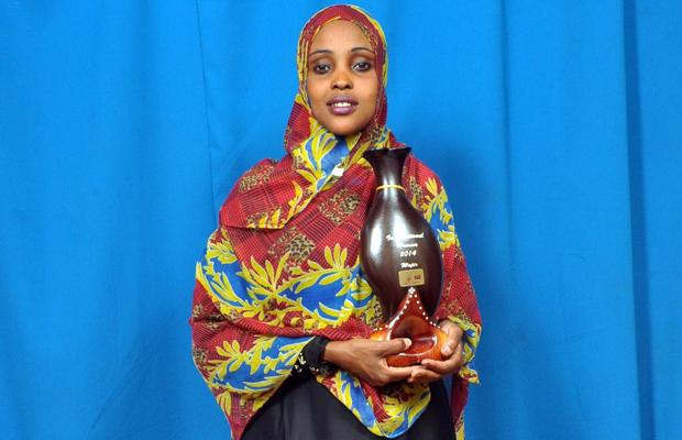 Campaigning nominee Amran Abdundi