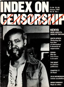 Kenya: more arrests and signs of torture, the January 1987 issue of Index on Censorship magazine.