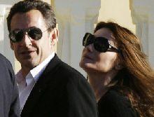 Sarkozy and Bruni