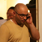 Released-Azerbaijani-journalist-Eynulla-Fatullayev-speaking-with-his-friends