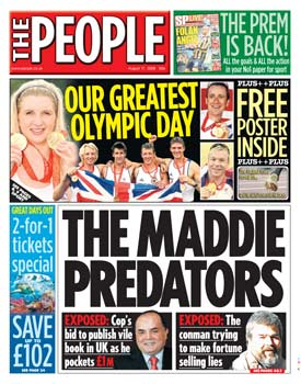 The People Maddie Predators cover