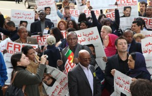 Protest for release of release of Abdulhadi Al Khawaja