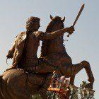 Alexander the Great statue, Skopje, Macedonia