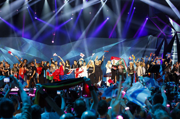 The Eurovision Song Contest gives a platform to some of Europe's outliers on free expression. Photo: Sander Hesterman (EBU) / Eurovision 2013