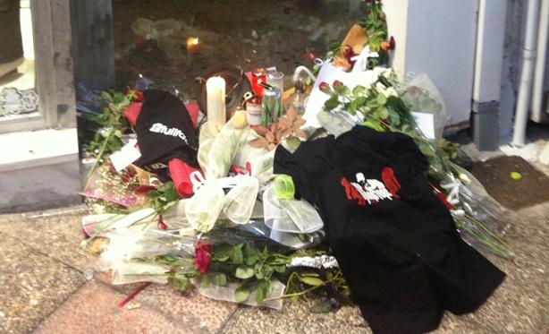 Tributes to murdered activist Pavlos Fyssas