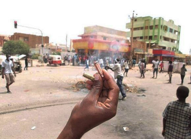 Sudan's government has cracked down violently, using live ammunition to disperse demonstrators.