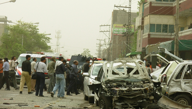 In May 2010, terrorists attacked two mosques belonging to the Ahmadi community. Ninety-four people were killes and more than 120 were injured. (Photo: Aown Ali / Demotix)
