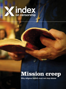 From the winter 2013 issue of Index on Censorship. Subscribe.