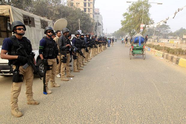 Election day in Bangladesh (Image: Md Manik/Demotox