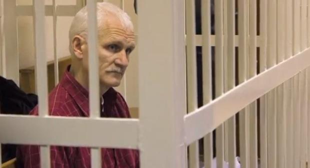 Ales Bialiatski has been imprisoned in Belarus since 2011 (Image: AmnistieWeb/YouTube)