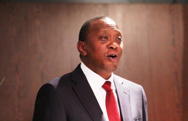 Kenyan president Uhuru Kenyatta has introduced tough new media laws. Image Demotix/David Mbiyu