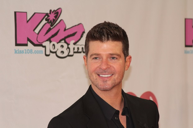 Robin Thicke's Blurred Lines song has been banned in at least 20 student unions after it was released in March 2013. (Image: George Weinstein/Demotix)