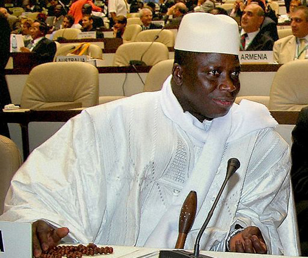 Yahya Jammeh (Image: IISD/Earth Negotiations Bulletin/Wikimedia Commons)