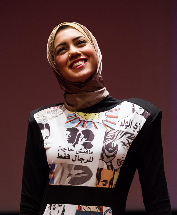 Mayam Mahmoud, award winning Egyptian Hip-hop Artist (Photo: Alex Brenner for Index on Censorship)