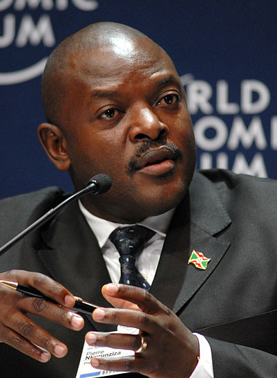 President Pierre Nkurunziza  (Photo: World Economic Forum/Eric Miller)