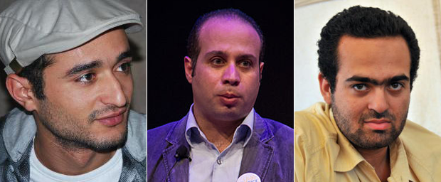 Leading bloggers Ahmed Douma, Ahmed Maher and Mohammed Adel are among those who are currently in prison
