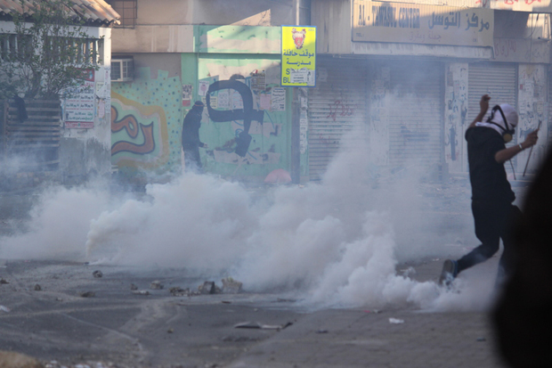 Made in Britain? Physicians for Human Rights (PHR) called for the immediate suspension of the use of excessive, indiscriminate and systematic use of tear gas against civilian protesters and densely populated Shia neighbourhoods citing its harmful effects to health.