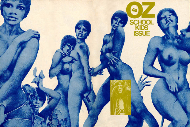 The school kids issue of Oz magazine lead to one of the longest conspiracy trials in England (Image: OZ/Wikimedia Commons)